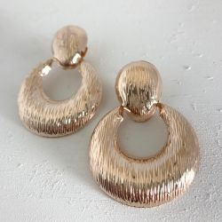 Onyx Crown - Helena Earring Rose Gold