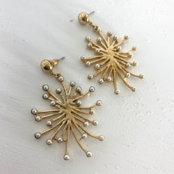 Onyx Crown - Mara Earring