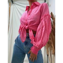 Fast Fashion - Fuschia Shirt