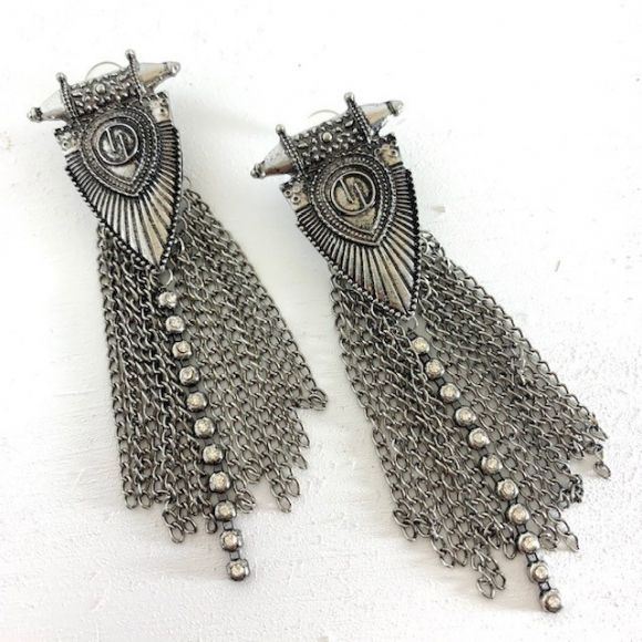 Onyx Crown - Zalia Earring